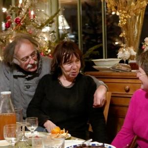La galette chez Liliane et Zibou, Oriol, 13 janvier 2013