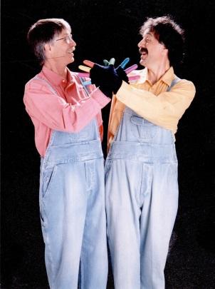 Spectacle Pouce, avec Steve Waring (1991)