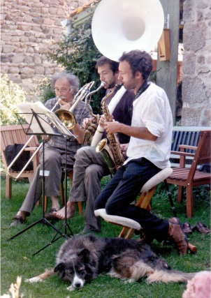 Répétition trio Darwin (été 2010)