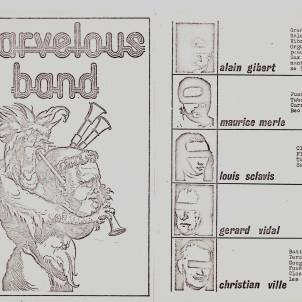 Pochette Marvelous Band (1975)