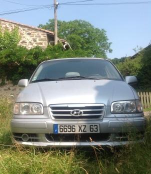 Dernière voiture d'Alain